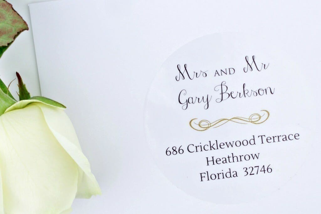 addressing wedding invitations uk furthermore return address labels ...