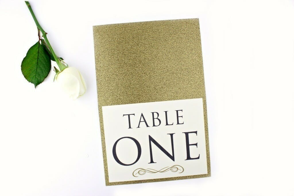 gold-glitter-table-number-1
