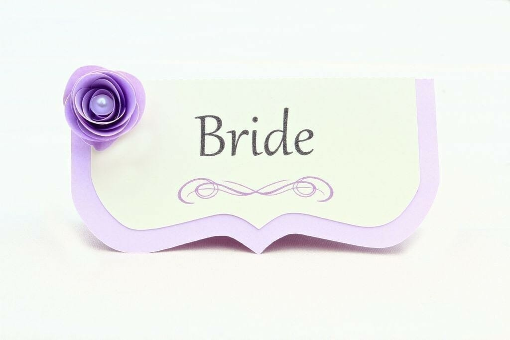 purple-flower-place-card