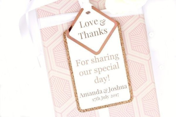 copper gift tags