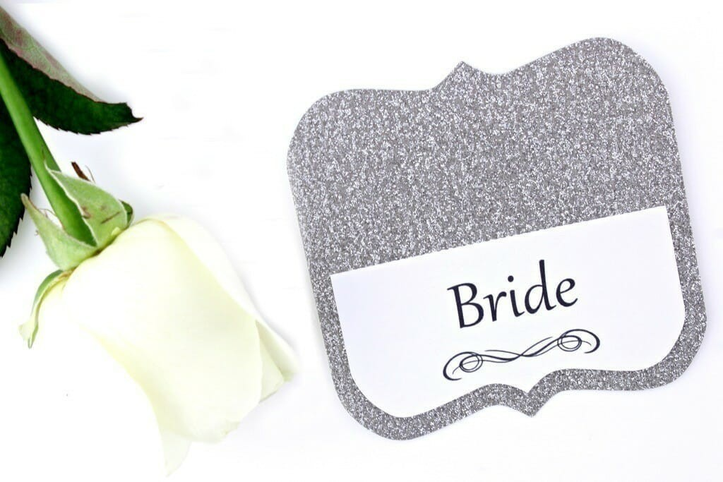silver-glitter-place-card-2