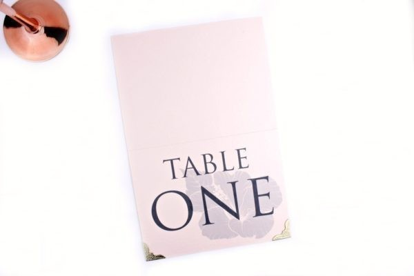 rose quartz table numbers